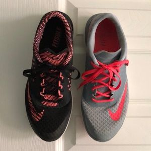 $45/2pair of Nike FS Lite Running Shoes 8.5